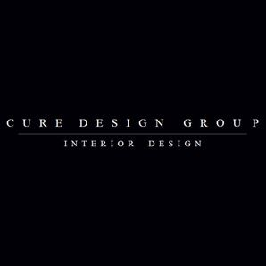 Cure Design Group Interior Design Logo