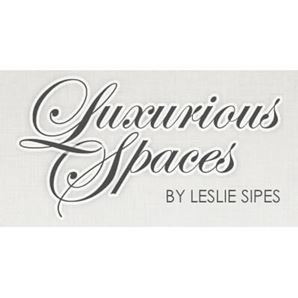 Luxurious Spaces by Leslie Sipes Logo