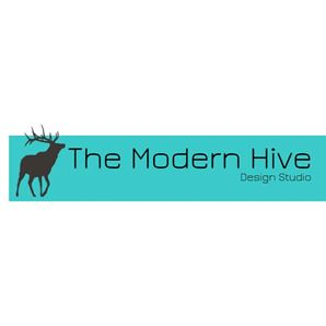 The Modern Hive Interior Design Logo