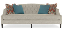 Diane Sofa with Down-Blend Cushions by Bernhardt Interiors