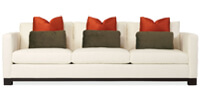 Lanai Sofa with Down-Blend Cushions by Bernhardt Interiors