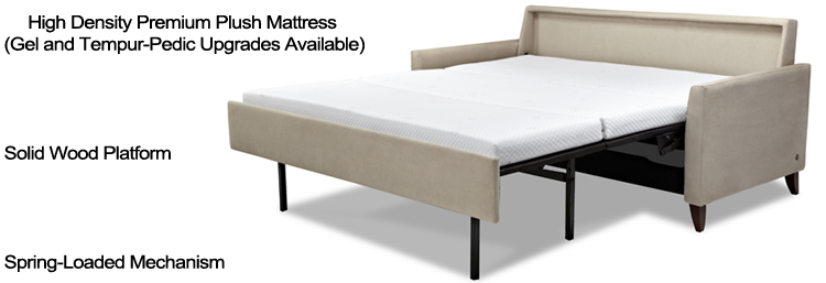 Highlights of the Generation IV Comfort Sleeper by American Leather