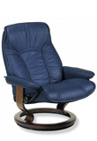 Governor Stressless Leather Recliner