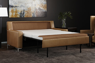 Leather Brynlee Comfort Sleeper
