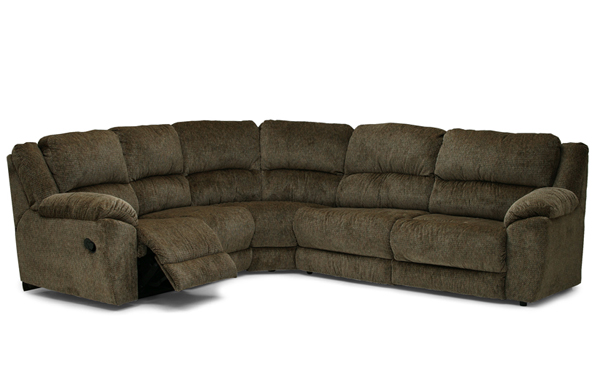 Benson Reclining True Sectional Sleeper Sofa
