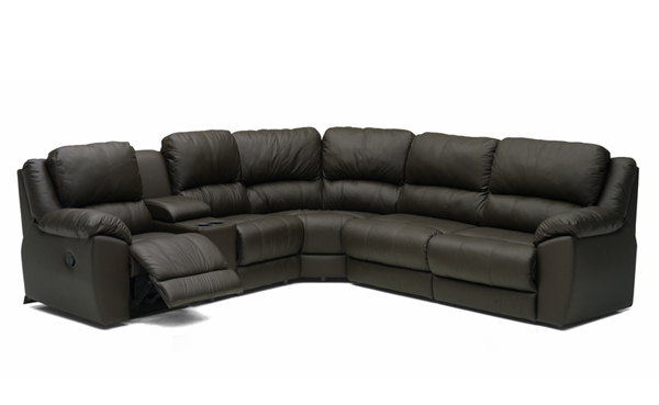 Benson Reclining True Sectional Sleeper with Console