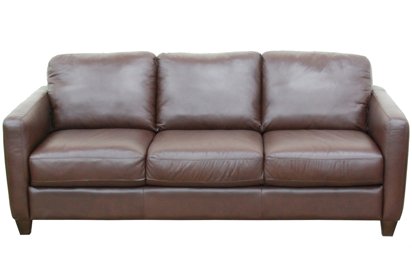 B591 Natuzzi Queen Sleeper in Boise Brown