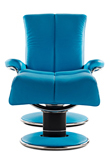 Blues Stressless Leather Recliner
