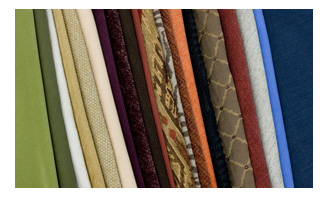 Fabrics and Leathers available for your Sleeper Sofa Bed