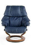 Reno Stressless Leather Recliner