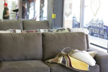 Selection of sleeper sofas in seattle