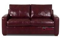 Boulder Full Leather Sleeper Sofa by Savvy