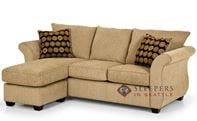 The Stanton 107 Chaise Sectional Sleeper Sofa (Queen)