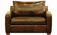 Savvy Boulder Leather Sleeper Sofa (Chair)