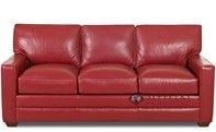 Palo Alto Queen Leather Sleeper Sofa by Savvy