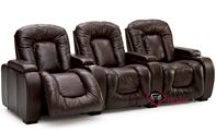 Rhumba 3-Seat Leather Reclining Home Theater Seating (Straight) by Palliser--Power Upgrade Available