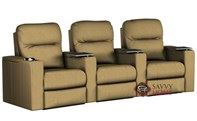 Pleasantville 3-Seat Reclining Home Theater Seating ...