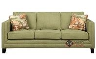 Carlton Sofa by Emerald Home Furnishings in Caprice Waterlily