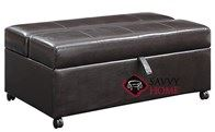 Hide-A-Way Ottoman Twin Sleeper by Emerald Home Furnishings