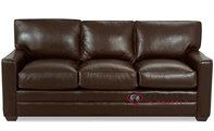 Savvy Palo Alto Leather Sleeper Sofa in Perugia Letorri (Queen)