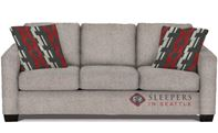 The Stanton 702 Sleeper Sofa in Jitterbug Linen (Queen)