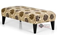 The 900 High Leg Rectangle Ottoman by Stanton