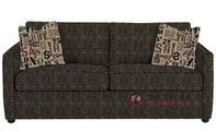 Savvy San Francisco Queen Sleeper Sofa in Snapshot Ebony