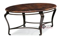 Clark Oval Cocktail Table by Bernhardt