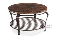 Clark Round Cocktail Table by Bernhardt