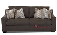 Savvy Alexandria Sleeper Sofa (Queen) with Optional Nailheads