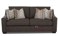 Savvy Alexandria Queen Sleeper Sofa with Optional Nailheads