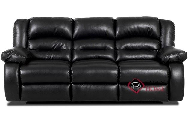 Augusta Reclining Leather Sofa