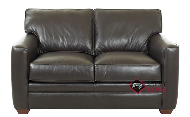 Bel-Air Leather Loveseat by Savvy