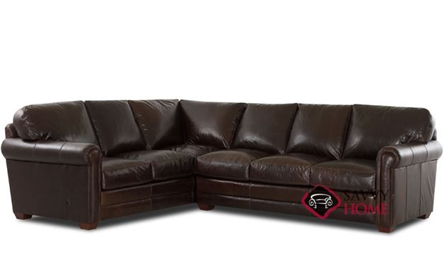 Cassidy Leather True Sectional (RAF)