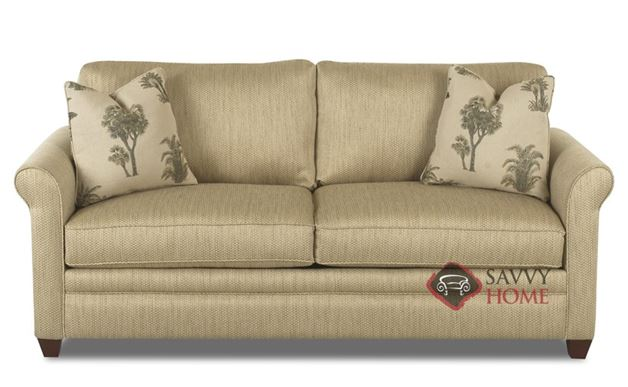 Denver Fabric Studio Sofa by Savvy is Fully Customizable