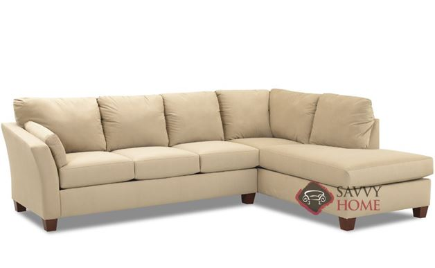 Sienna Chaise Sectional Sofa by Savvy