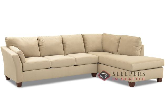 Savvy Sienna Chaise Sectional Sleeper (Queen)