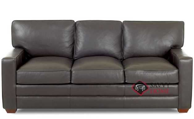 Waltham Queen Leather Sleeper Sofa