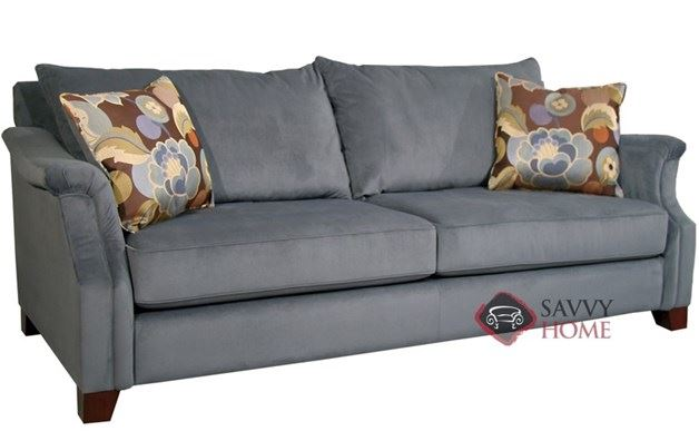 Player Sofa shown in Aces Cornflower