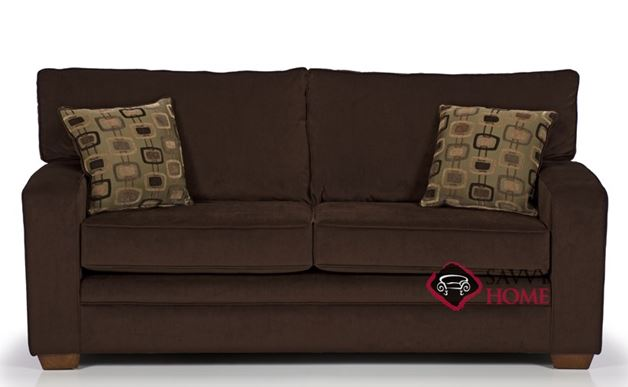 The 670 Studio Sofa in Top Hat Chocolate