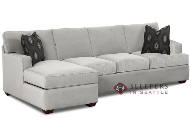 Savvy Lincoln Chaise Sectional Sleeper (Queen)