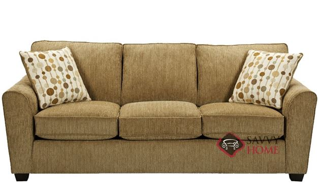 The 643 Sofa by Stanton in Windfall Putty