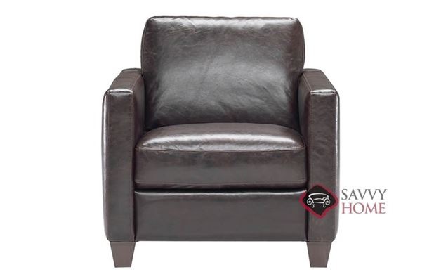 B591 Leather Chair by Natuzzi