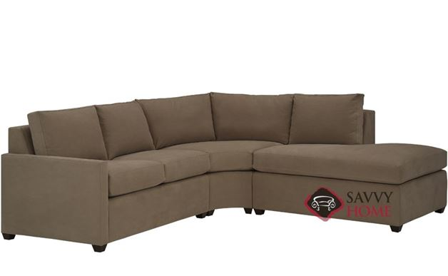 Terra Chaise Sectional with Condo Queen Sleeper