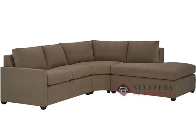 The Terra Chaise Sectional with Condo Sleeper (Queen)