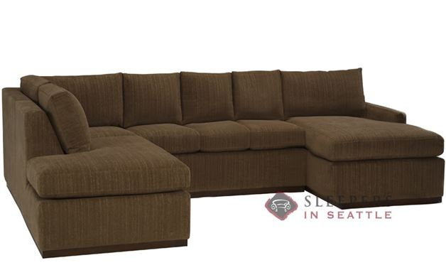 The Terra U-Sectional with 3-Cushion Sleeper (Queen)