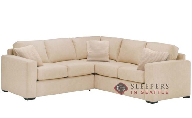 Lazar Sutton Place True Sectional with 2-Cushion Sleeper (Twin)