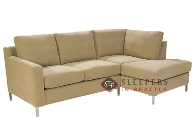 Lazar Soho Chaise Sectional with 2-Cushion Sleeper (Twin)