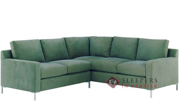 Lazar Soho True Sectional with 2-Cushion Sleeper (Twin)