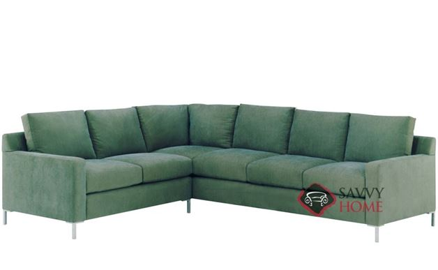 Soho True Sectional with 3-Cushion Queen Sleeper